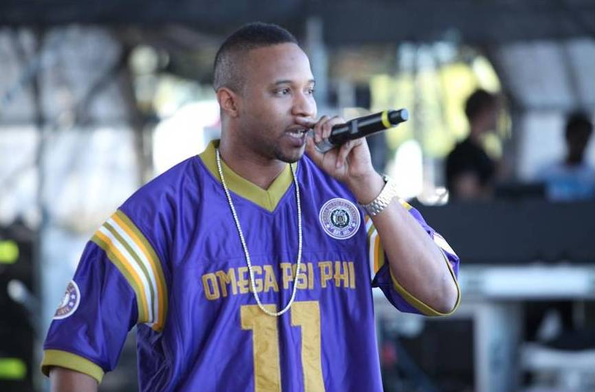 #1 of Fall 98 MC'ing the Sprite National Step-off.
